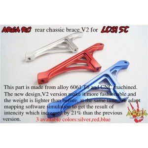 Area Rc Rear chassis brace for LOSI 5IVE-T | Chassis Parts | Used / Clearance Items