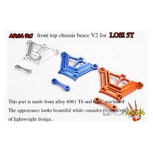 Area Rc Front top chassis brace for LOSI 5IVE-T | Chassis Parts | Used / Clearance Items | MGC Carousel