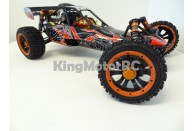 King Motor Baja Zonda 1 30.5cc (Wild Red) | Large Scale Off Road Cars