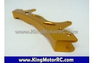 Aluminum Rear Shock Brace (orange)   Large Scale Parts     Suspension & Steering Parts   King motor after market parts   Suspension Option Parts   Specials