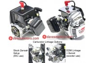 Zenoah G260RC Black with Clutch  | Zenoah Car Engines