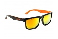 Bittydesign Claymore Sunglasses w/Fire Lens (Black/Orange) | Sunglasses