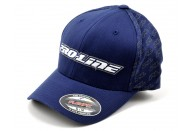 "Pro-Line Racing ""Swarm"" Flexfit Hat (Navy Blue) (S/M) 