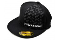"Pro-Line Racing 2013 ""Icon"" Flat Bill Flexfit Hat (Black) (S/M) 