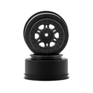 Pro-Line Racing Split Six 2.2/3.0 One-Piece Wheels (2) (Slash/Rear - Blitz Front/Rear) (Black) | Rims