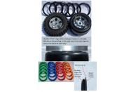 "Hostile ""Ultra"" Beadlock Rings  - Set of 2 - Green | Wheels, Beadlocks & Tyres | 1/5 Rims, Tyres And Accessories | Wheels, Beadlocks & Tyres"