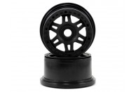 Pro-Line Racing Split Six Bead-Loc Rear Wheels (Baja 5T) (2) (Black/Black) | 1/5 Rims, Tyres And Accessories | Wheels and Tyres