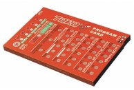 SKYRC Toro Program Card for Car SK-300032-01 | ESC