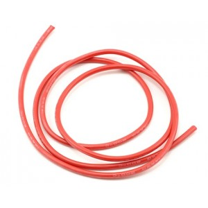 ProTek RC 14awg Red Silicone Hookup Wire (1 Meter) | Wire