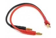 Heavy Duty Ultra Plug Charge Lead (Male Plug to 4mm Banana Plugs)  | Chargers leads