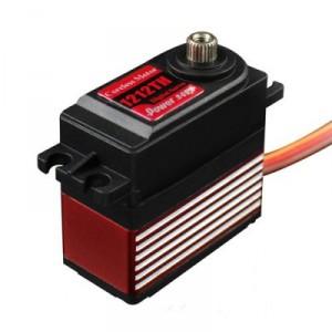 Power HD-1212TH Digital HV Titanium Gear High Torque Servo 14kg / 0.10sec / 57g | Servos