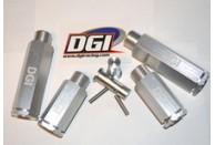 "DGI Racing 2"" & 3"" Aluminum Wheel Extenders Complete Set for HPI Baja 5B/5T/5SC"