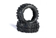 Hostile MX Knobby FRONT Tire Set for 5b (HARD Compound) | Wheels, Beadlocks & Tyres | Wheels, Beadlocks & Tyres | 1/5 Rims, Tyres And Accessories | Wheels and Tyres