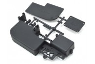 SWorkz S35-3 Nitro Buggy Radio Tray Set | All Plastic Parts | MGC Carousel