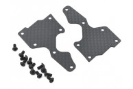 SWorkz 1mm S35-3 Series Pro-Composite Carbon Front Lower Arm Covers (2) | Alloy & Option Parts | Suspension & Steering Parts | MGC Carousel