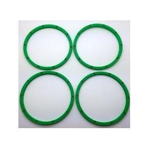 Silverback v3 Lipped Outer HD Beadlocks for Baja 5b/T/SC and Losi 5ive - Green | Wheels, Beadlocks & Tyres | Wheels, Beadlocks & Tyres | Specials | MGC Carousel
