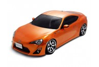 MST FXX-D 1/10 Scale 2WD Brushless RTR Drift Car w/Toyota FT-86 Body & 2.4GHz Transmitter (Orange) | KITS