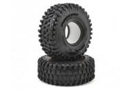 "Pro-Line Hyrax 1.9"" Rock Crawler Tyres w/Memory Foam (2) (G8)   Tyres"