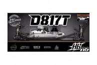 HB Racing D817T 1/8 4WD Off-Road Nitro Truggy Kit | Kitsets | 1/8 Nitro Truggy