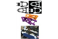 RPM Baja Black Front Arm Set