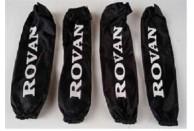 Shock Outwear set Front Rear Black Rovan 85154