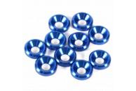 M3 Countersunk Washer Blue 8pcs  | Bolts, Screws, Nuts, Washers | Bolts, Screws, Nuts, Washers & Ball Studs | Bolts, Screws, Nuts, Washers & Ball Studs | Bolts, Screws, Nuts, Washers & Ball Studs