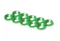 M3 Countersunk Washer Green 8pcs  | Bolts, Screws, Nuts, Washers | Bolts, Screws, Nuts, Washers & Ball Studs | Bolts, Screws, Nuts, Washers & Ball Studs | Bolts, Screws, Nuts, Washers & Ball Studs