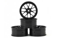 MST 24mm RE Wheel (Black) (4) (+0 Offset) | Wheels