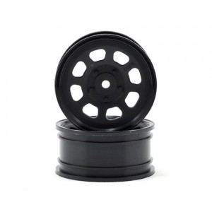 HPI 12mm Hex 26mm Stock Car Wheels (2) (Black) | Rims | Look Whats New