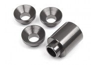 HPI Clutch Bell Holder Spacer Set - Gunmetal | Look Whats New | Diff Drivetrain & Gears | HPI BAJA Factory Parts