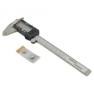 "ProTek RC 6"" Digital Caliper w/LCD Display & Hard Case | Set up tools | Home"