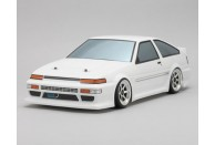 Yokomo TOYOTA AE86 Trueno 1/10 Drift Body Set | Drifting