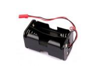 AA x 4 Battery Holder With Futaba JR Plug