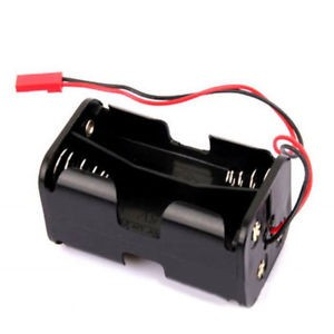 AA x 4 Battery Holder With Futaba JR Plug | Radio Box  &  Accessories | Batteries  | Accessories | Home