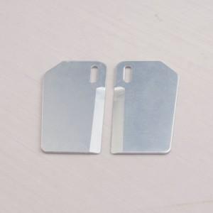 Aluminum Turn Fin Blade 30x55mm | Turn Fins & Trim Tabs