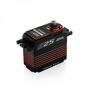 Power HD S25 Red (0.06s/25.0kg/7.4V) Brushless Servo | Servos