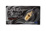 ProTek RC Gold P3 Samurai Turbo Glow Plug (Ultra Hot) | Nitro Engines & Accessories