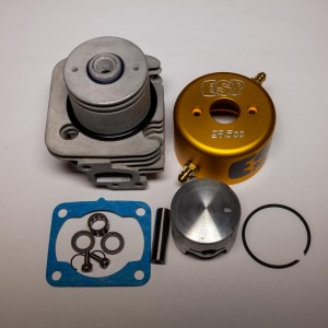 ESP CHAMPIONSHIP PORTED G290PUM 29cc 36mm Watercooled Cylinder Kit w/ Piston Mod | Zenoah Marine Engines | Zenoah Marine Engine Parts  | Engine Hopups & Accessories | Home