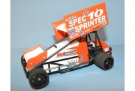 RJ Speed Spec Sprint Car Kit | 1/10 scale cars | Kitsets