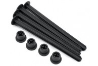 JConcepts 1/8th Buggy Off Road Tire Stick (Black) (4) | 1/8 Tyres, Rims And Premounts | Tyre Accessories | Tire Storage