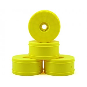 JConcepts 83mm Bullet 1/8th Buggy Wheel (4) (Yellow)  | Buggy rims | JConcepts | Home