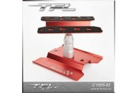 TFL RC Car Stand W/ Heighten Parts In Red Color | Tools/Maintenance