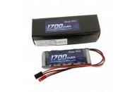 6.0V 1700mAh 2/3A nimh Flat RX Battery Pack - Dual JR-JST Plug | NIMH