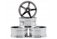MST GT Wheel Set (Chrome/Black Chrome) (4) (Offset Changeable)  | Look Whats New | Wheels